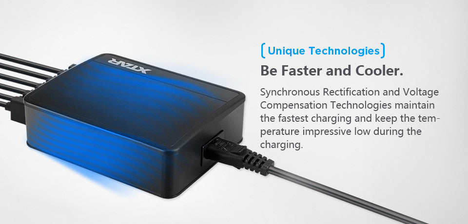 XTAR 45W 6 Port 2AMP USB Charger | Quick USB Charger, Now in India