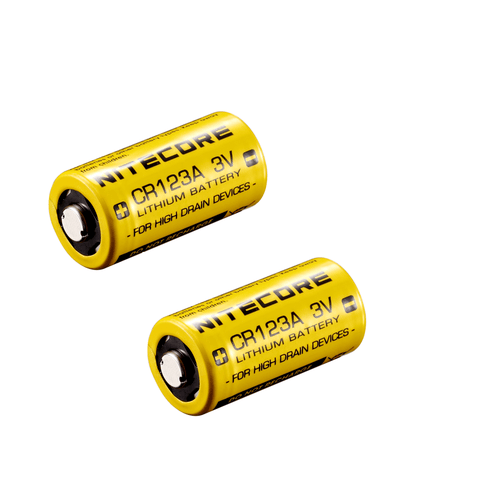 CR123A Battery by Nitecore India