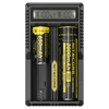 Nitecore UM20 USB Charger with LCD Display for Li-ion and IMR Batteries | 18650 Battery Charger in India by LightMen