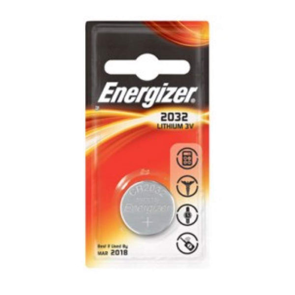 Energizer CR2032 / ECR2032 3V Lithium Primary Coin Cell Batteries
