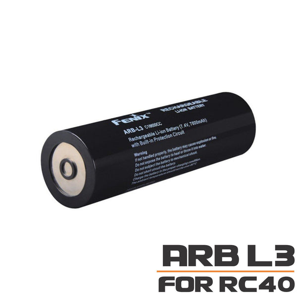 Fenix ARB-L3 Battery for RC40 LED Searchlight