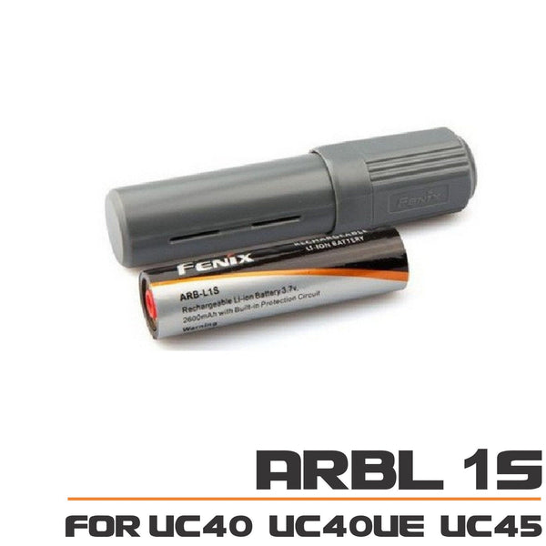 Fenix Spare Battery Pack ARBL1S  for UC40, UC40UE, UC45 LED Flashlight