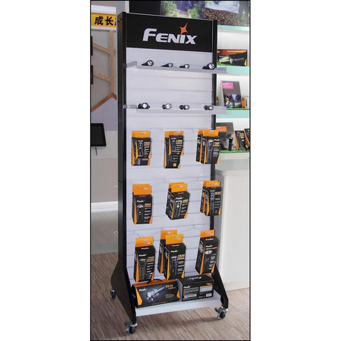 Fenix D1048 | Mobile Slat Wall Display Stand