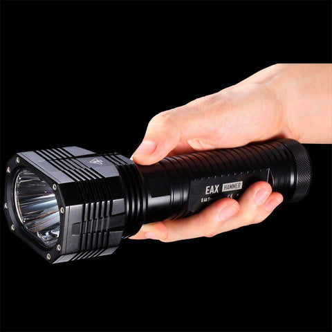 Nitecore EAX Hammer LED Torch, India 2000 Lumens, 8*AA Battery