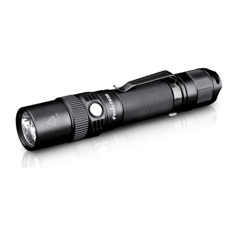 Fenix FD30 LED Flashlight, (1*18650/2*CR123A) LED Torch, Adjustable Focus, Zoom Torch