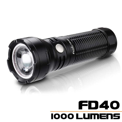 Fenix FD40 LED Flashlight, (1*18650/1*26650) Zoom Torch