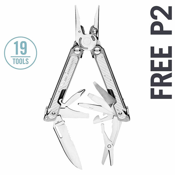 Leatherman FREE P2 Multi-Tools | 19 Tools