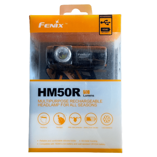 Fenix HM50R Head Torch (Damaged Box)