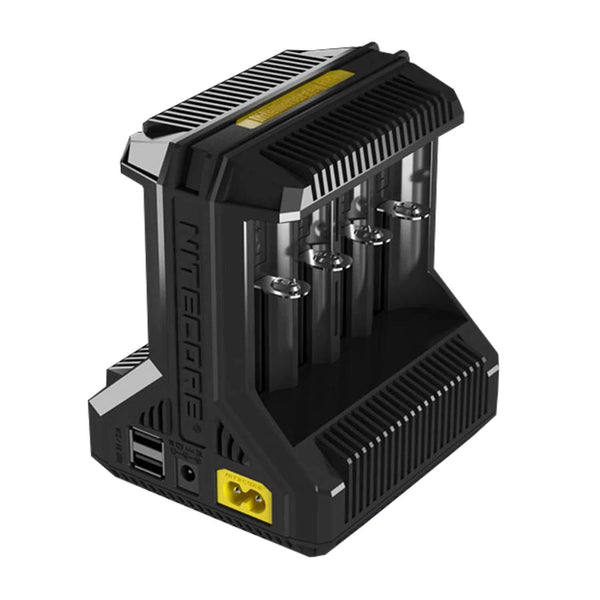 Nitecore Charger I8 Intellicharge 8 Channel Smart Charger for Li-ion, Ni-Cd, & NiMH Batteries
