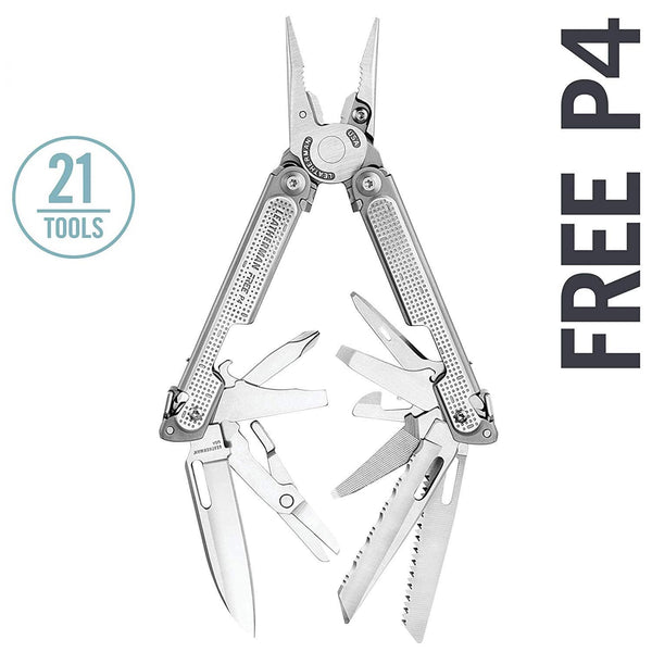 Leatherman FREE P4 Multi-Tools | 21 Tools