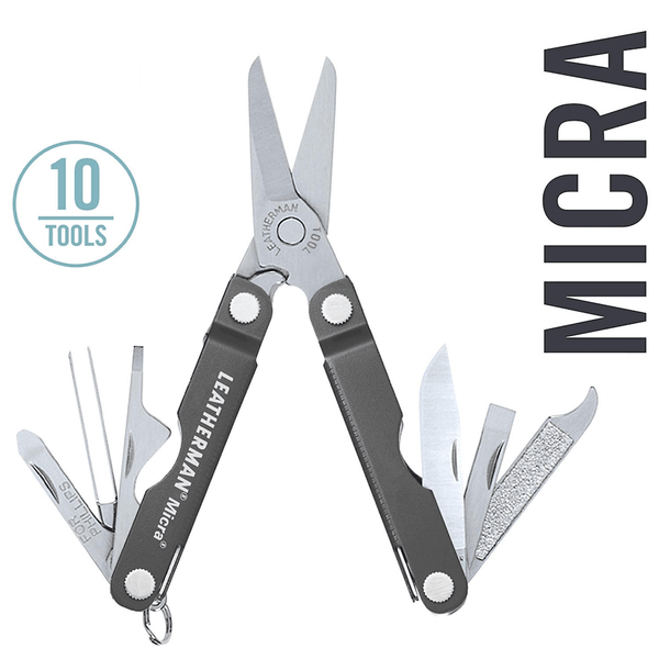Leatherman Micra Keychain Multi-Tools | 10 Tools