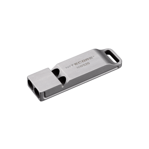 Nitecore NWS 20 | Survival Emergency Titanium Whistle