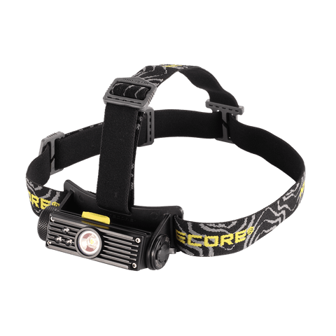 Nitecore HC90 USB Rechargeable Headlamp With Red Green Blue LED