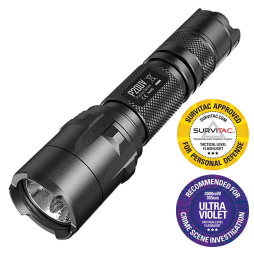 Nitecore P20UV 800Lumens UV LED Torch | UV Flashlight