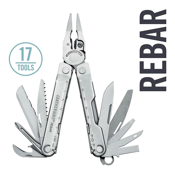 Leatherman Rebar Multi-Tool | 17 Tools