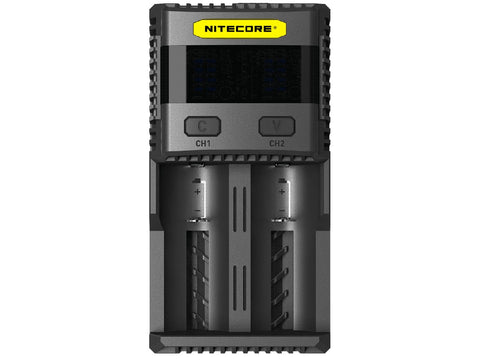 Nitecore SC2 Charger 2 Slot Fast Battery Charger India