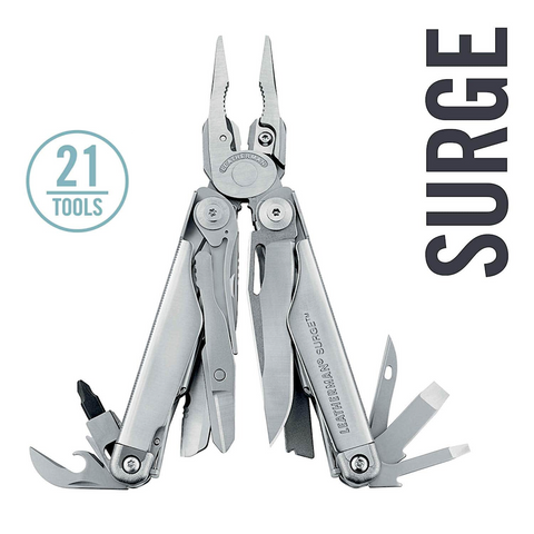 Leatherman Surge Multi-Tools | 21 Tools