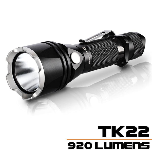 Fenix TK22 LED Flashlight (1*18650 OR 2*CR123A) LED Torch