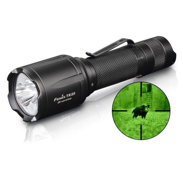 FENIX TK25 IR LED Flashlight | 1000 Lumens