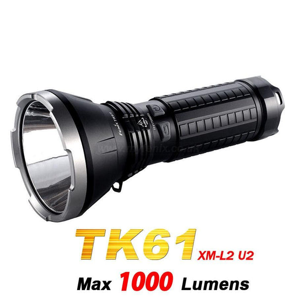 Fenix TK61 LED Flashlight (SPOTLIGHT) 1000Lumens