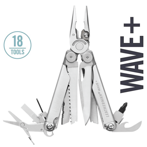 Leatherman Wave Plus Multi-Tool | 18 Tools