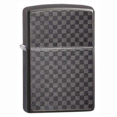 Zippo Iced Carbon Fiber Design Lighter