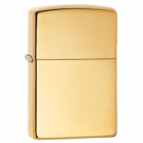 Zippo Classic High Polish Brass Lighter