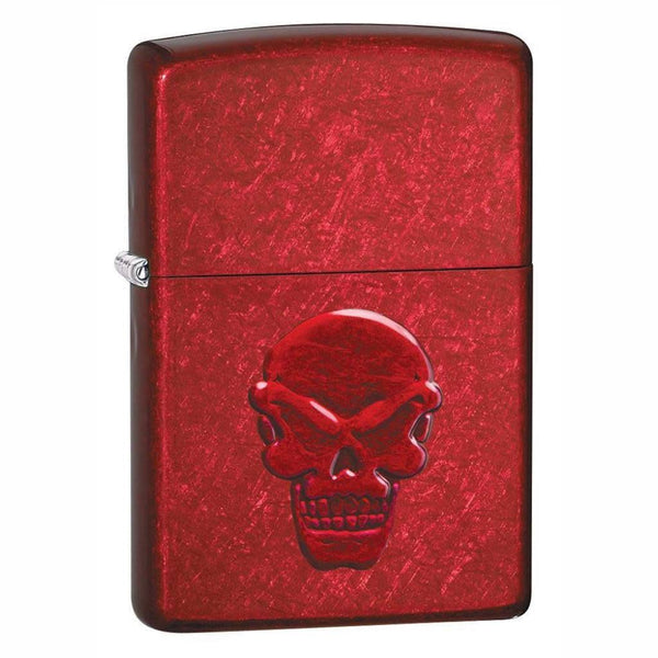Zippo Doom (Candy Apple Red) Lighter
