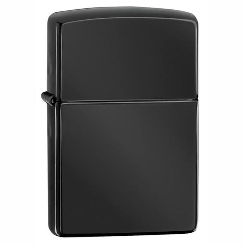 Zippo Classic Ebony High Polish Black Lighter