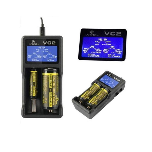 Xtar VC2 USB Charger for Li-ion and IMR Batteries