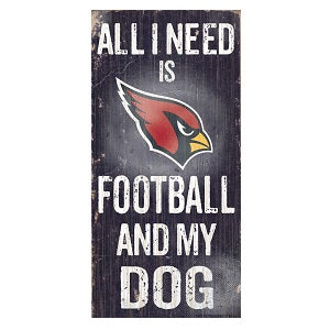 Arizona Cardinals --- All I Need Wood Sign
