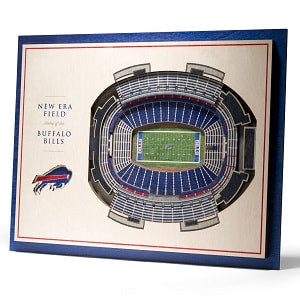 Buffalo Bills --- 5-Layer StadiumView Wall Art