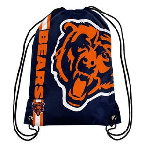 Chicago Bears --- Big Logo Drawstring Backpack