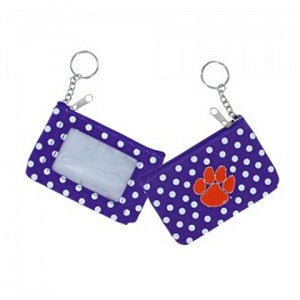Clemson Tigers --- Coin ID Purse