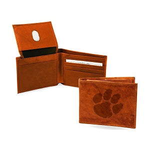 Clemson Tigers --- Leather Wallet