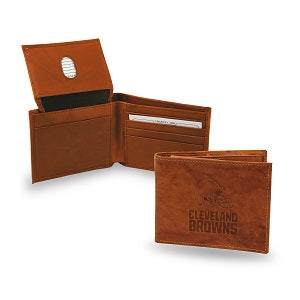 Cleveland Browns --- Leather Wallet