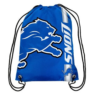 Detroit Lions --- Big Logo Drawstring Backpack