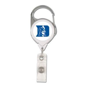 Duke Blue Devils --- Retractable Badge Holder