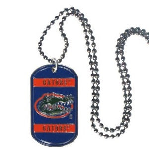 Florida Gators --- Neck Tag Necklace