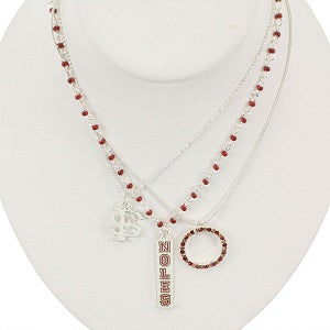 Florida State Seminoles --- Trio Necklace