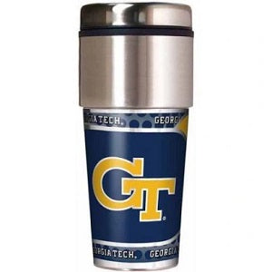 GA Tech Yellow Jackets --- Travel Tumbler