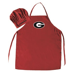 Georgia Bulldogs --- Apron and Chef Hat
