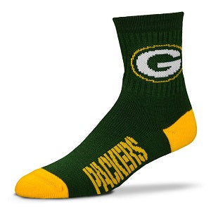 Green Bay Packers --- Team Color Crew Socks