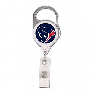 Houston Texans --- Retractable Badge Holder