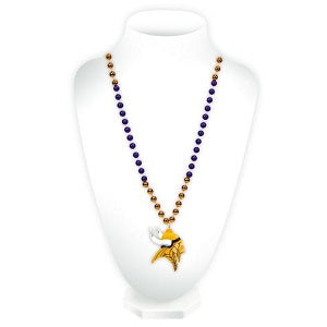 Minnesota Vikings --- Mardi Gras Beads