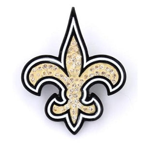 New Orleans Saints --- Crystal Logo Pin