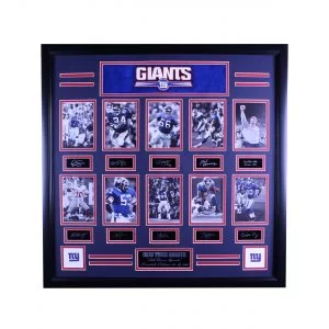 New York Giants --- All Time Greats Signature Plaque