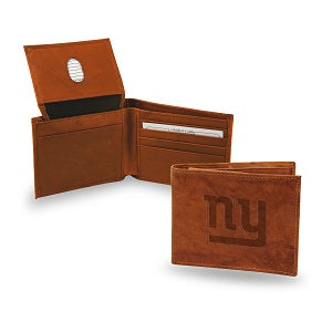 New York Giants --- Leather Wallet