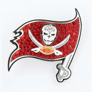 Tampa Bay Buccaneers --- Crystal Logo Pin