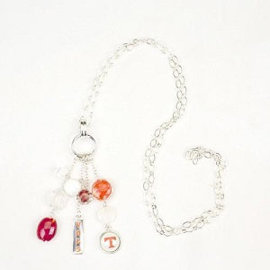 Tennessee Vols --- Cluster Necklace